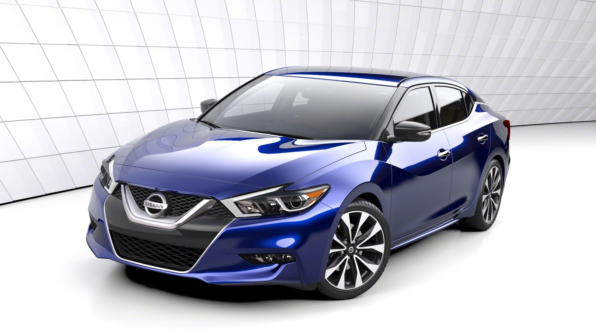2016 nissan maxima revealed in new york prices start at. Black Bedroom Furniture Sets. Home Design Ideas