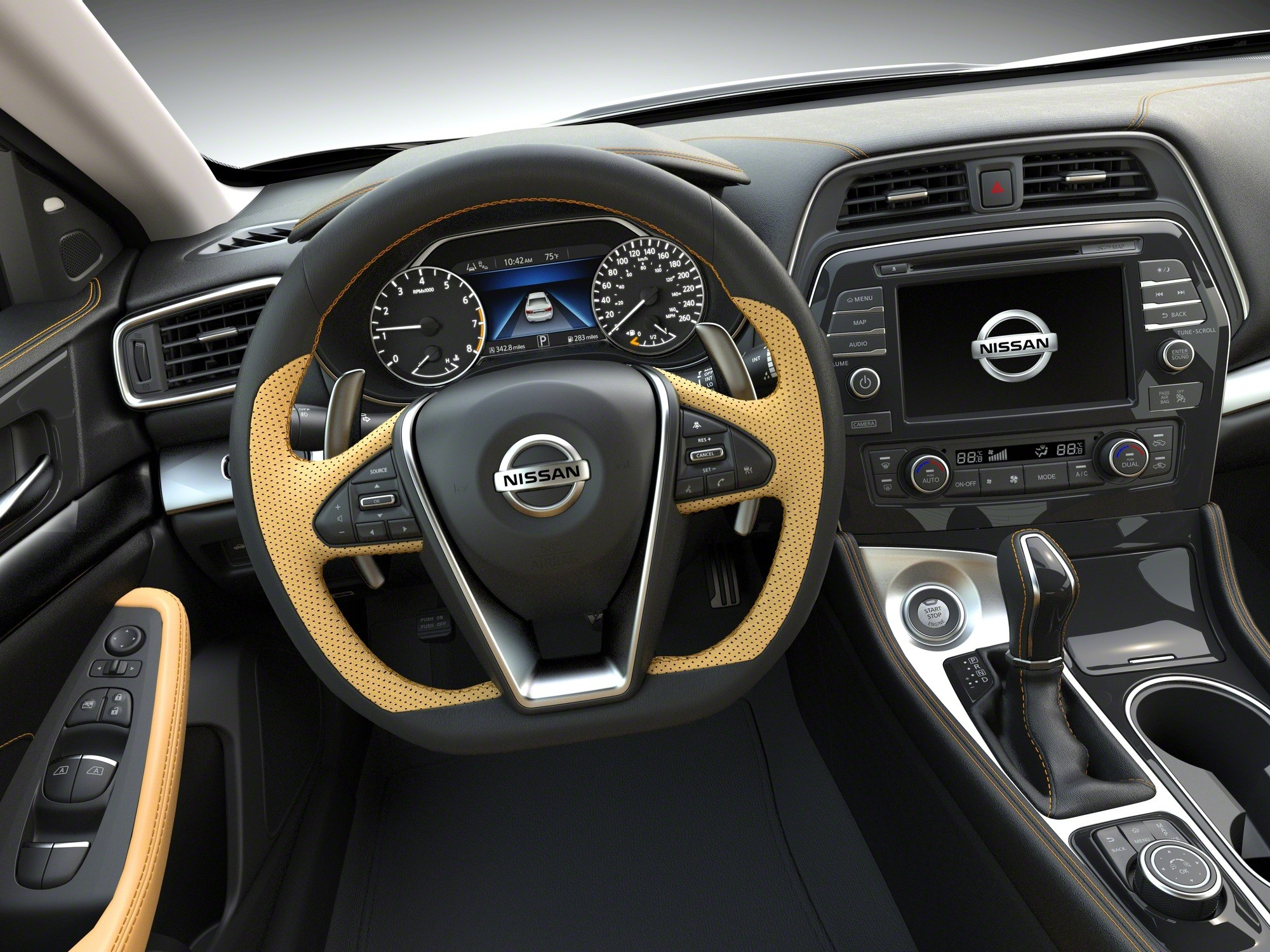 2015 Nissan Maxima >> 2016 Nissan Maxima Revealed in New York, Prices Start at $32,410 MSRP - autoevolution