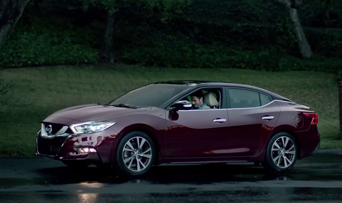 """2016 Nissan Maxima Shown During Super Bowl Ad """"With Dad ..."""