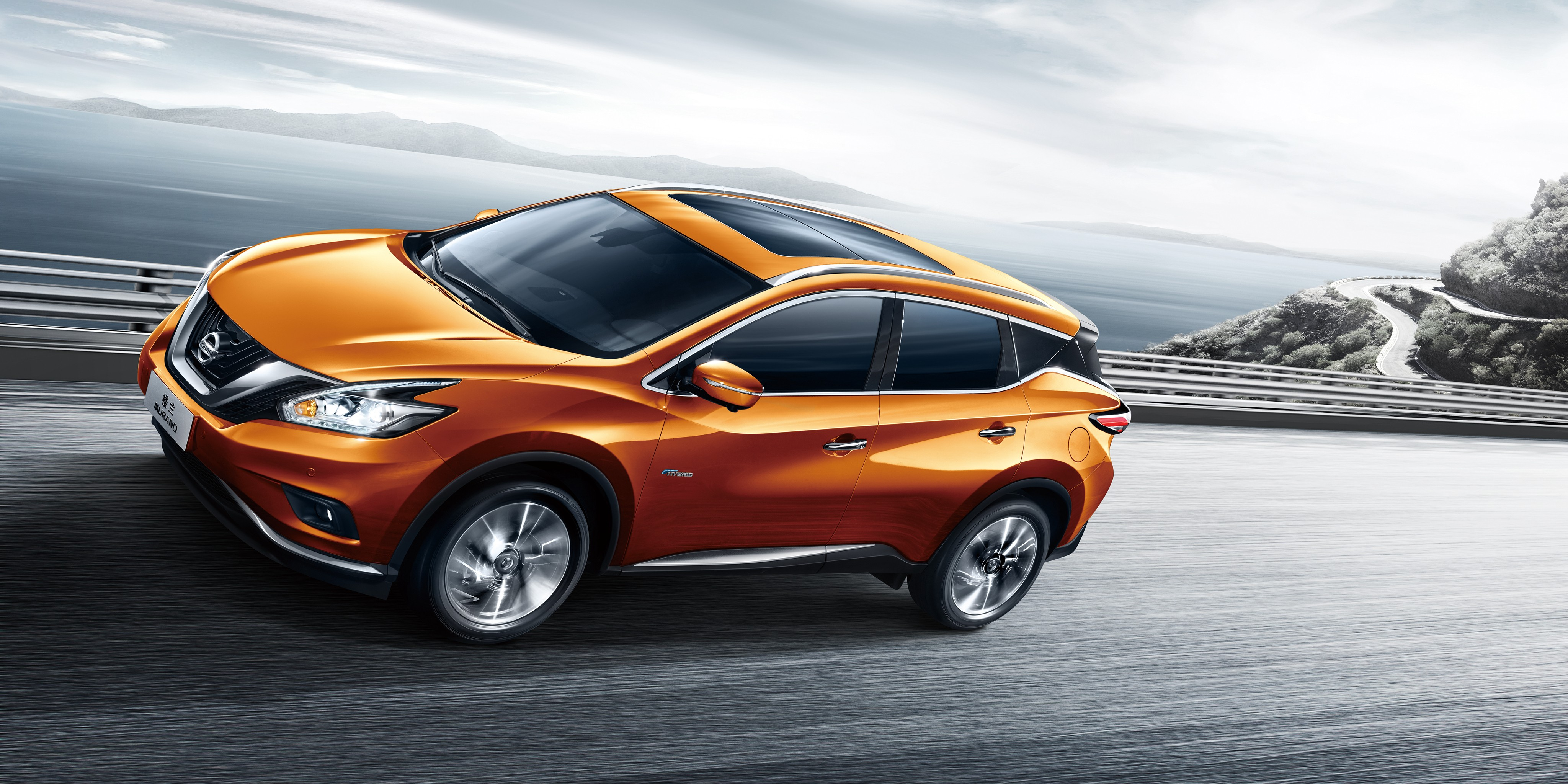2016 nissan murano hybrid goes on sale in the usa around 600 units allocated autoevolution. Black Bedroom Furniture Sets. Home Design Ideas