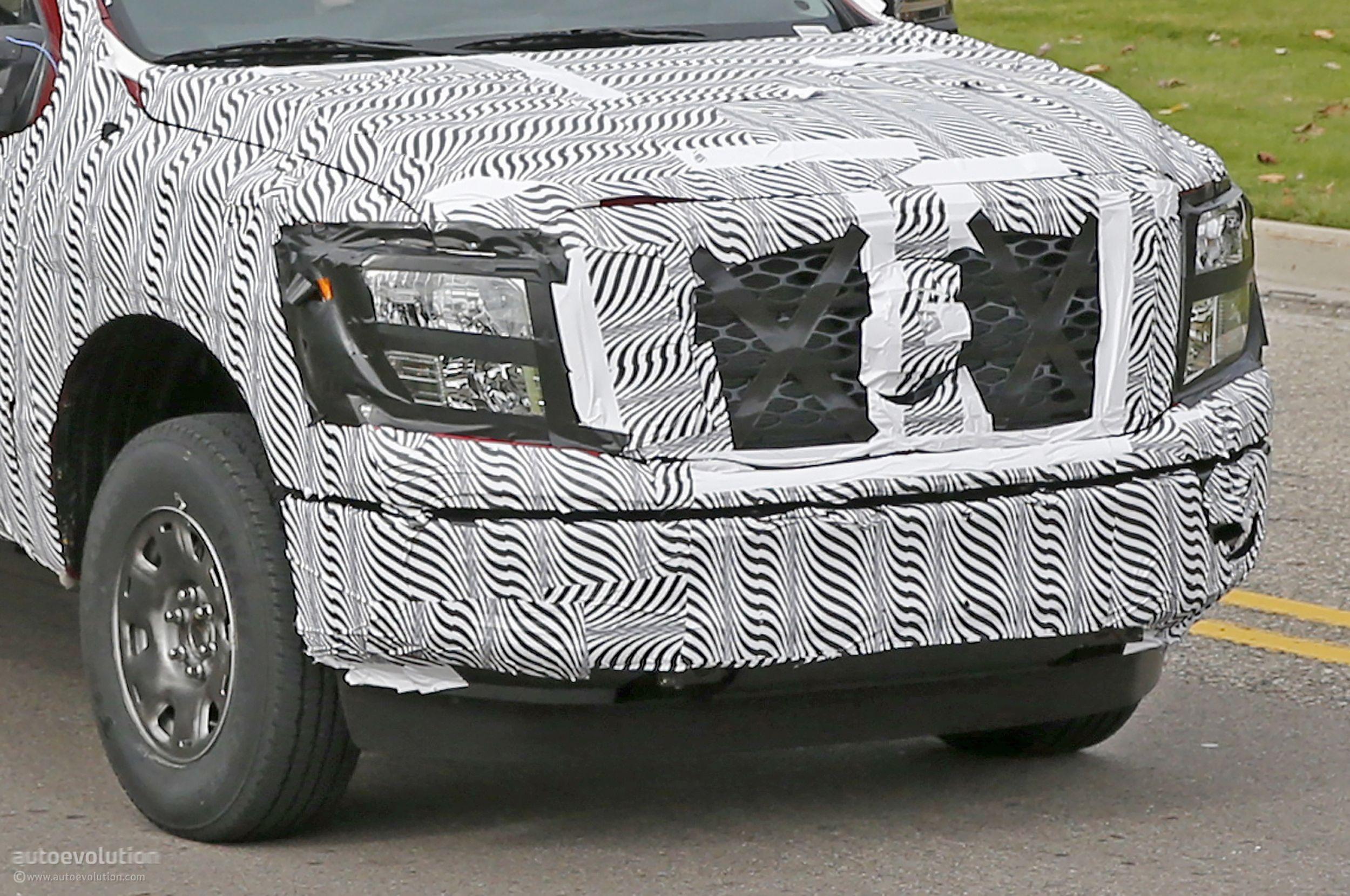 2016 nissan titan isv cummins turbo diesel test mule
