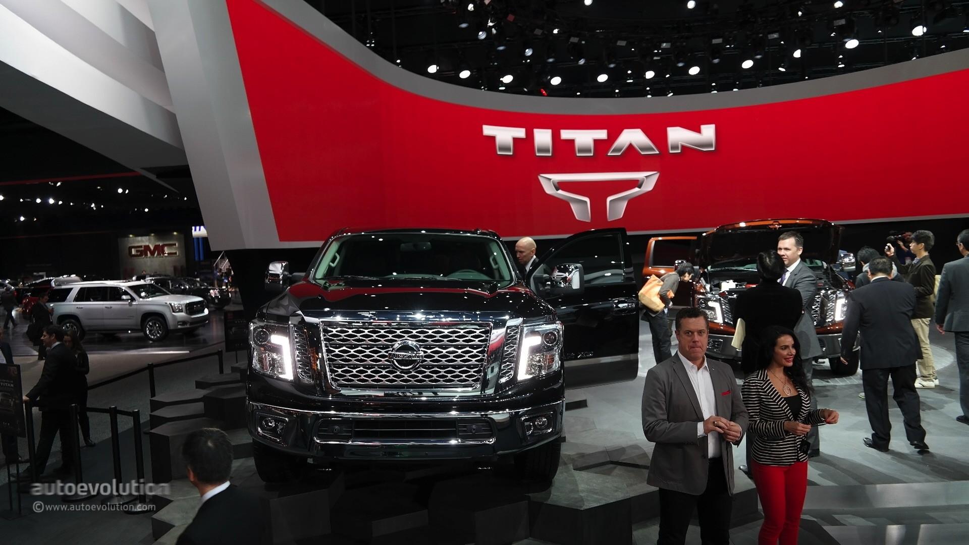 2016 Nissan Titan Xd Cummins Light Duty Truck Has Heavy