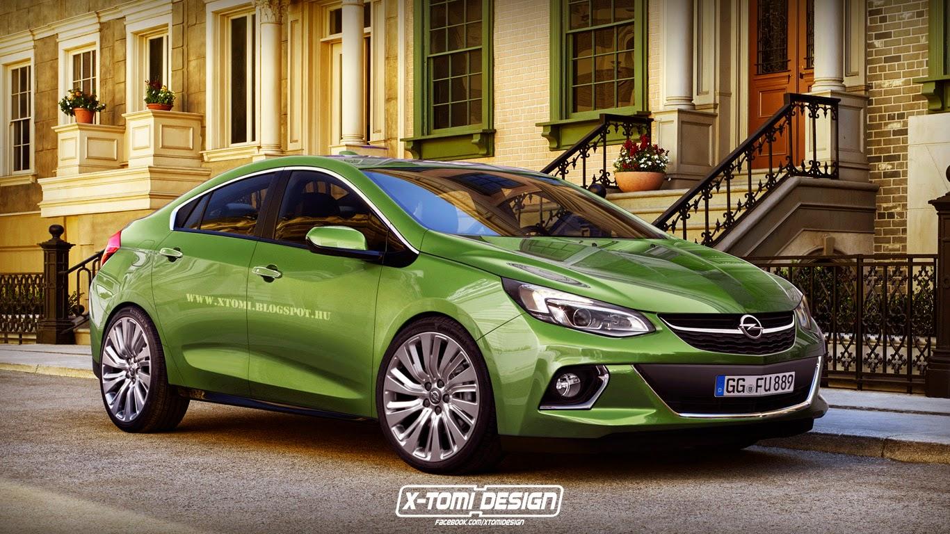 2016 Opel Ampera Rendered: High Street Hybrid - autoevolution