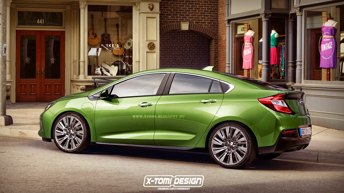 2016 Opel Ampera Rendered High Street Hybrid Autoevolution