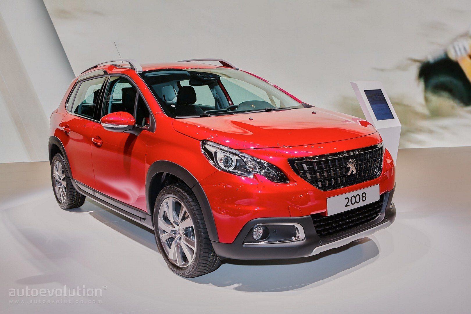 2016 peugeot 2008 facelift joins opel mokka x for geneva. Black Bedroom Furniture Sets. Home Design Ideas