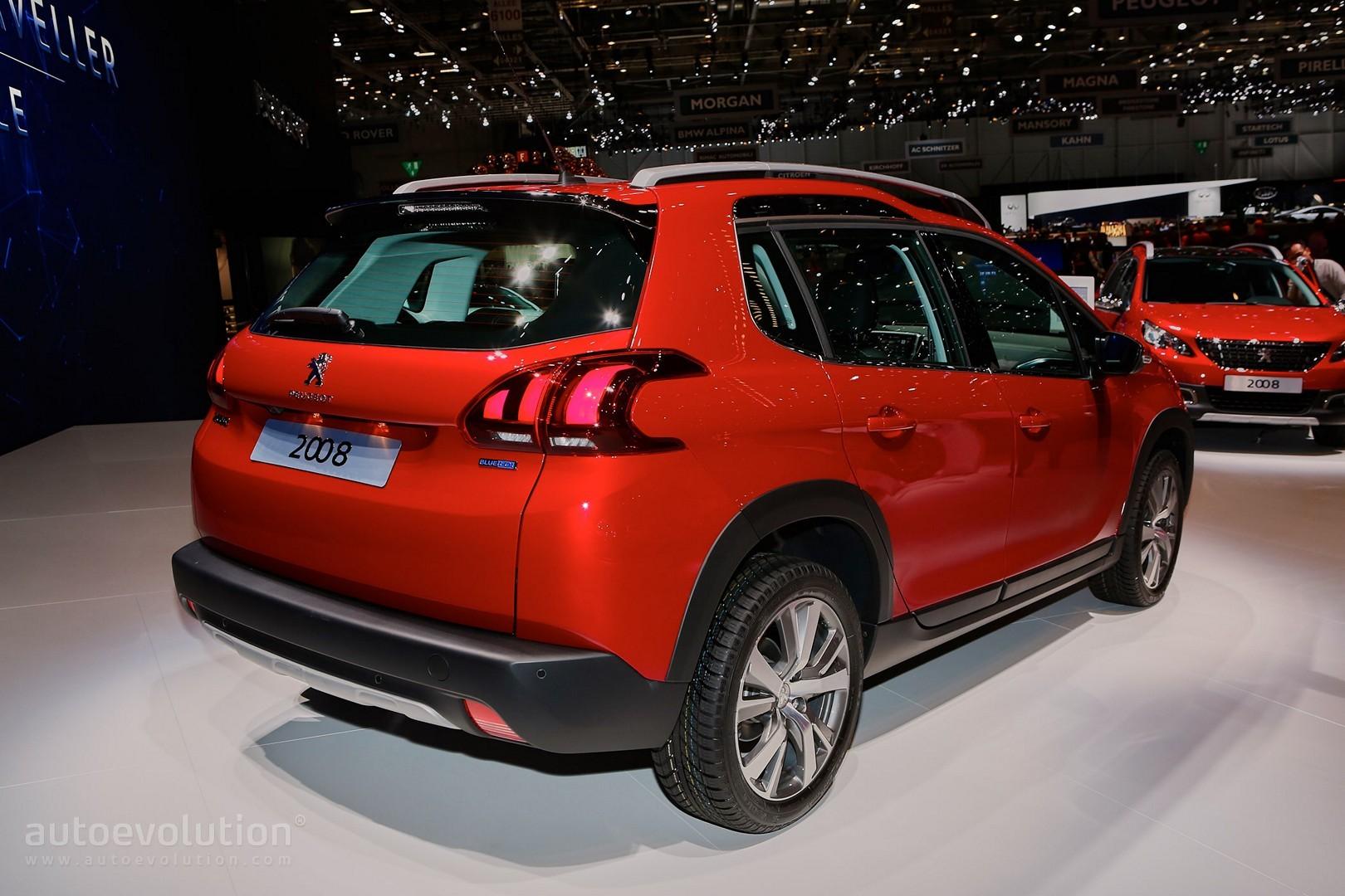 2016 Peugeot 2008 Facelift Joins Opel Mokka X for Geneva ...