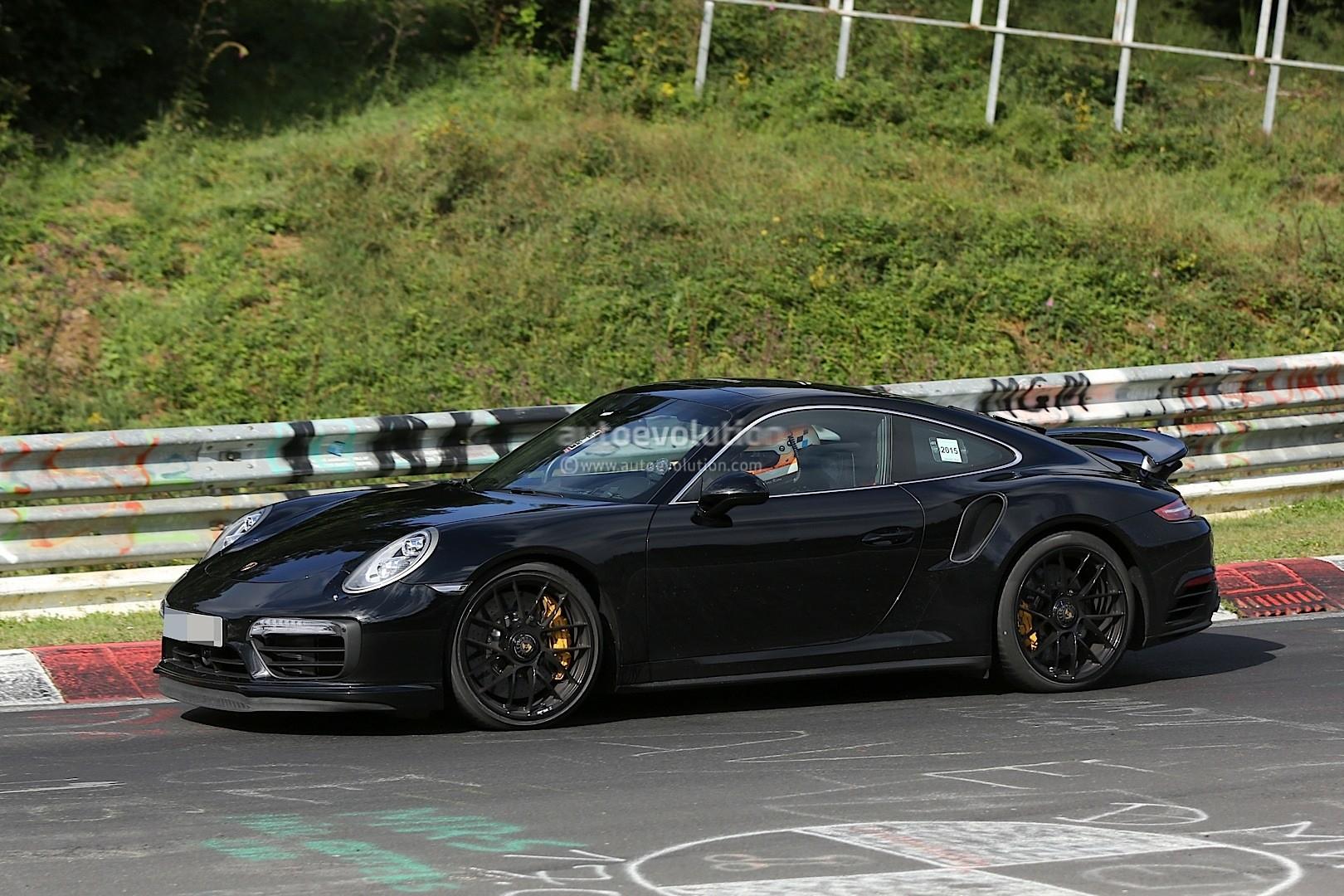 2016 porsche 911 turbo s facelift spyshot