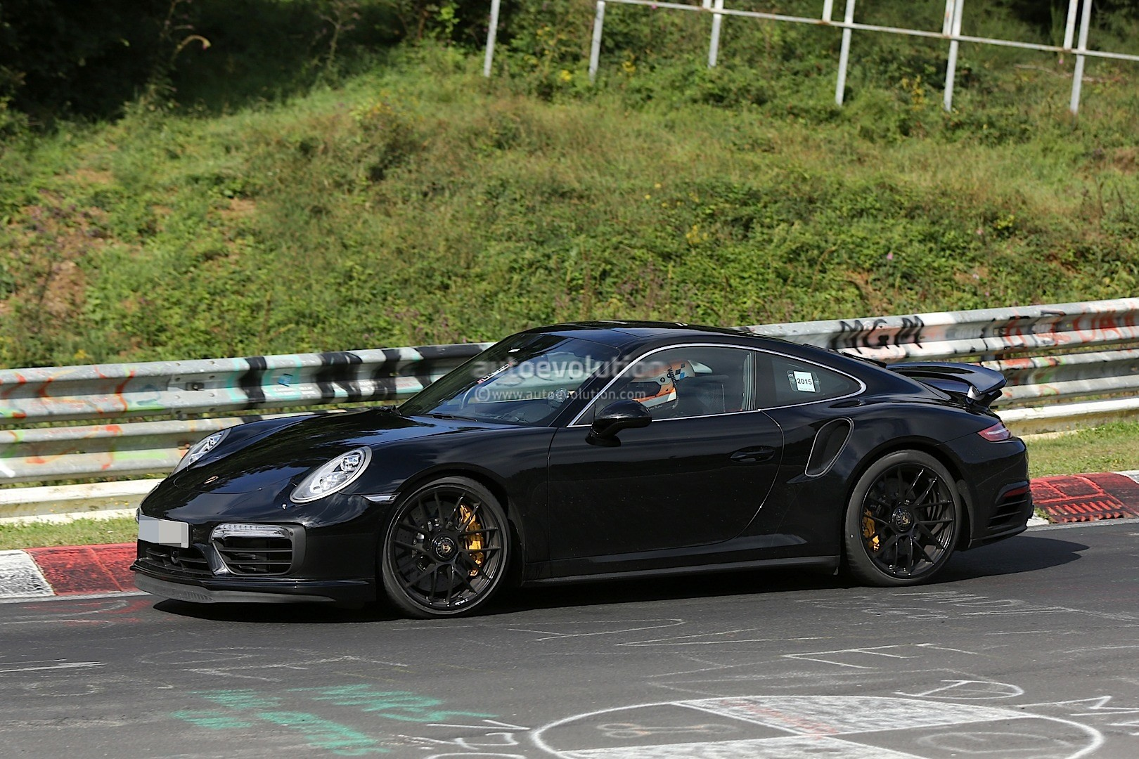 porsche 911 turbo 2016. 2016 porsche 911 turbo s facelift spyshot c