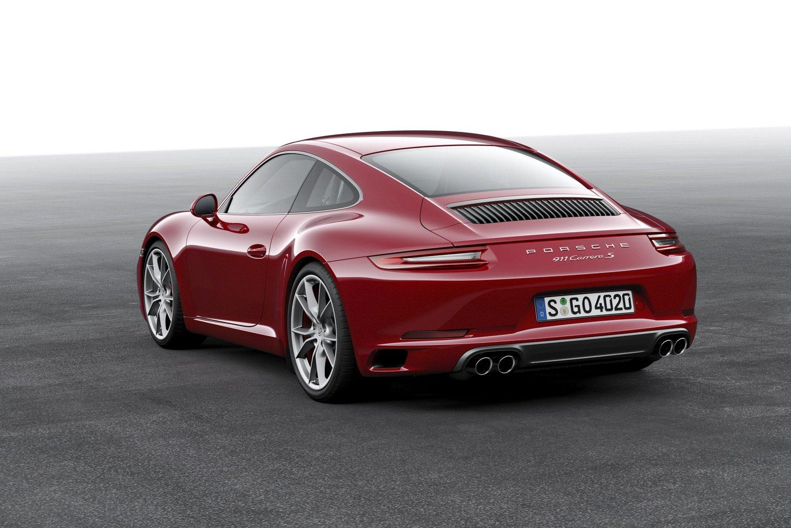 2016 porsche 911 revealed carrera s offers supercar. Black Bedroom Furniture Sets. Home Design Ideas