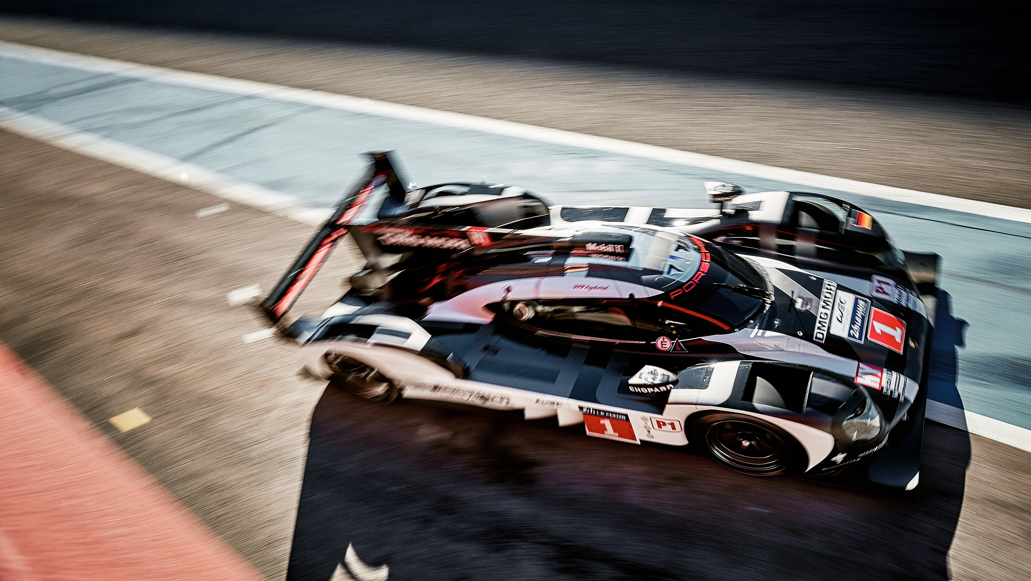 2016 porsche 919 hybrid lmp1 race car packs 900+ horsepower