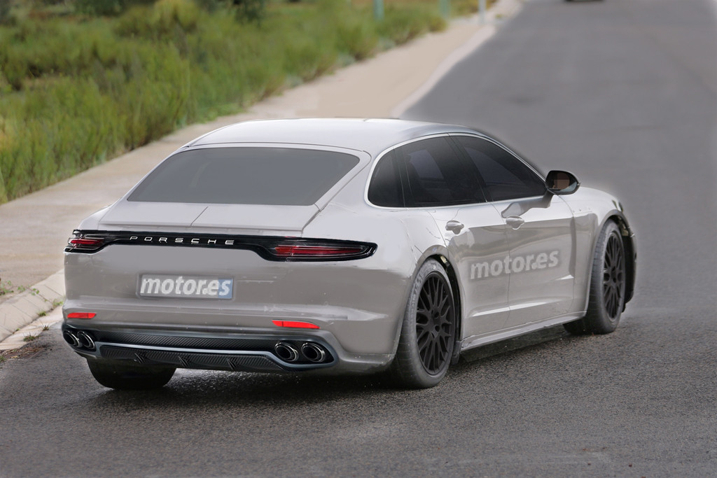 2016 Porsche Panamera Digitally Imagined Based On Latest Spyshots