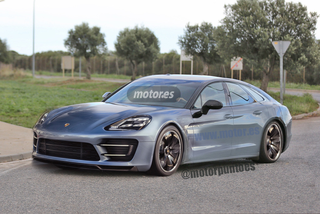 2016 porsche panamera digitally imagined based on latest spyshots autoevolution. Black Bedroom Furniture Sets. Home Design Ideas