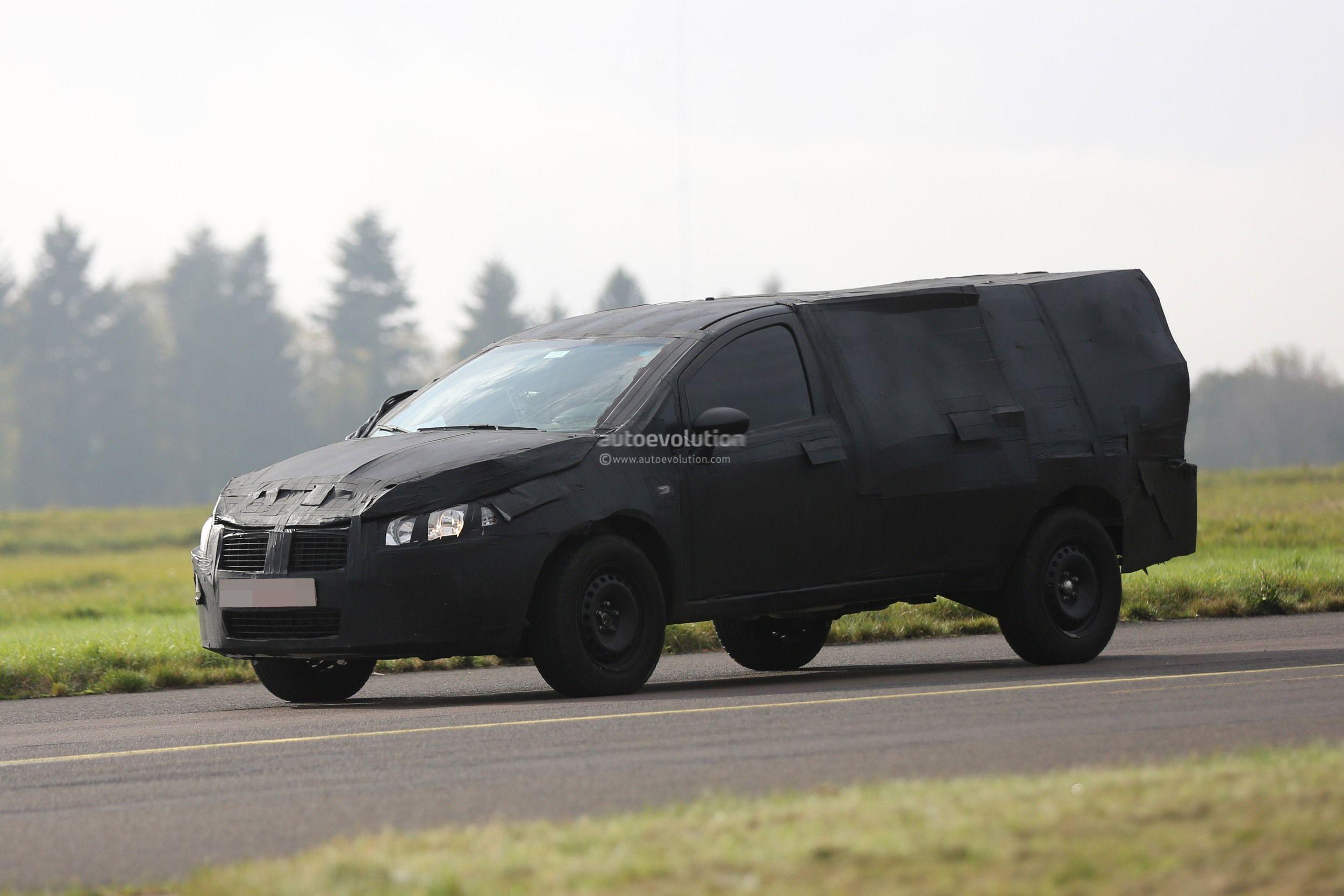 2016 ram small pickup truck fiat strada double cab spied autoevolution. Black Bedroom Furniture Sets. Home Design Ideas