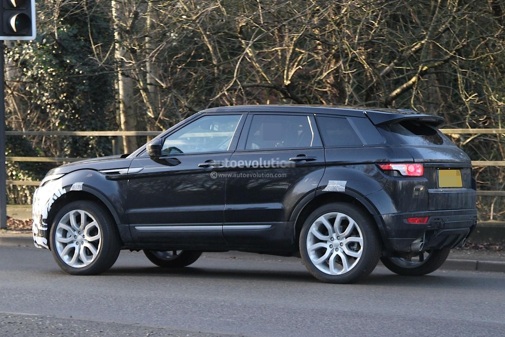 2016 Range Rover Evoque Mid Life Facelift Spied Ingenium