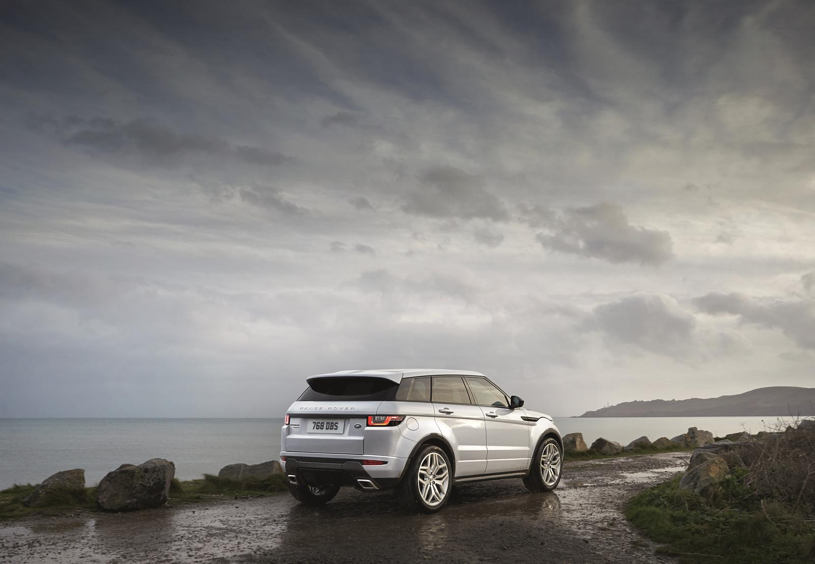 2016 Range Rover Evoque Prices Start From 30 200 In The Uk