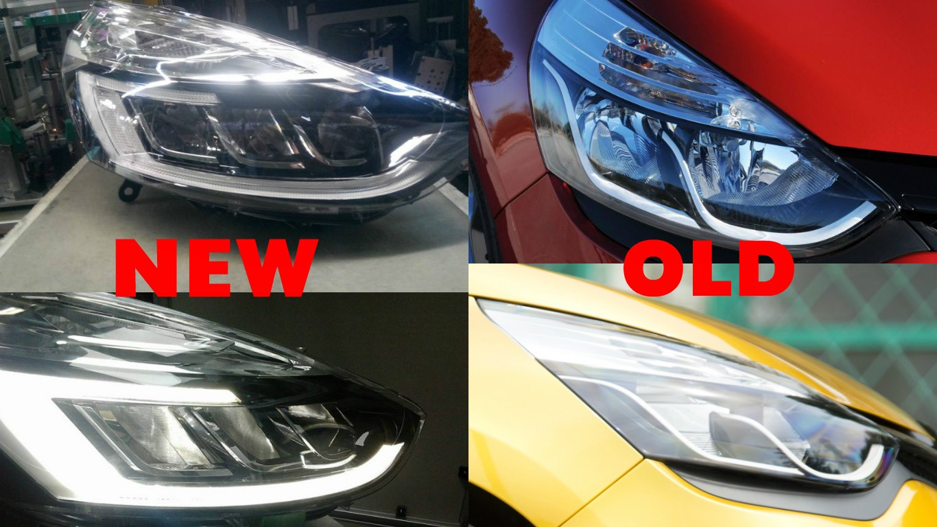 2016 renault clio facelift headlights scooped autoevolution. Black Bedroom Furniture Sets. Home Design Ideas