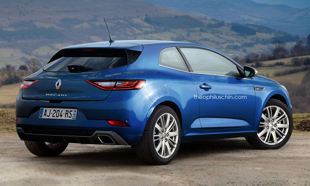 2016 Renault Megane Coup 233 Rendered Autoevolution