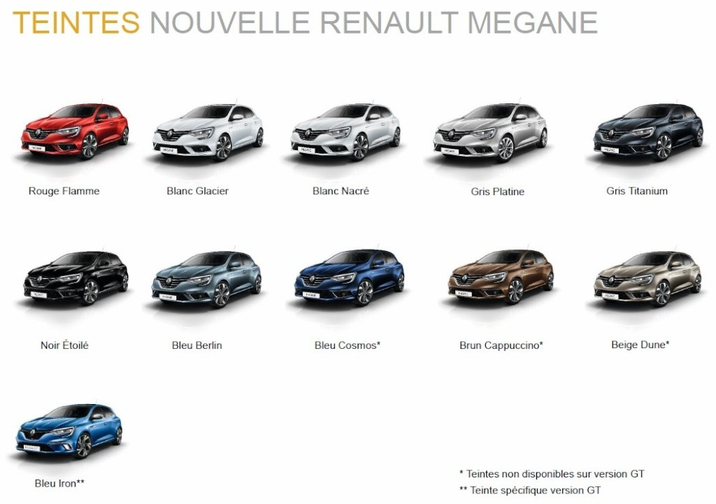 2016 renault megane specs leaked base 1 2 turbo makes 100. Black Bedroom Furniture Sets. Home Design Ideas