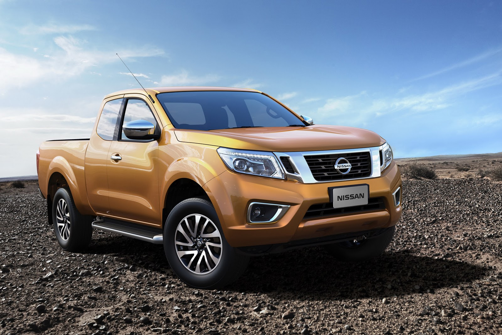 renault pickup truck confirmed for 2016 will be based on nissan navara autoevolution. Black Bedroom Furniture Sets. Home Design Ideas