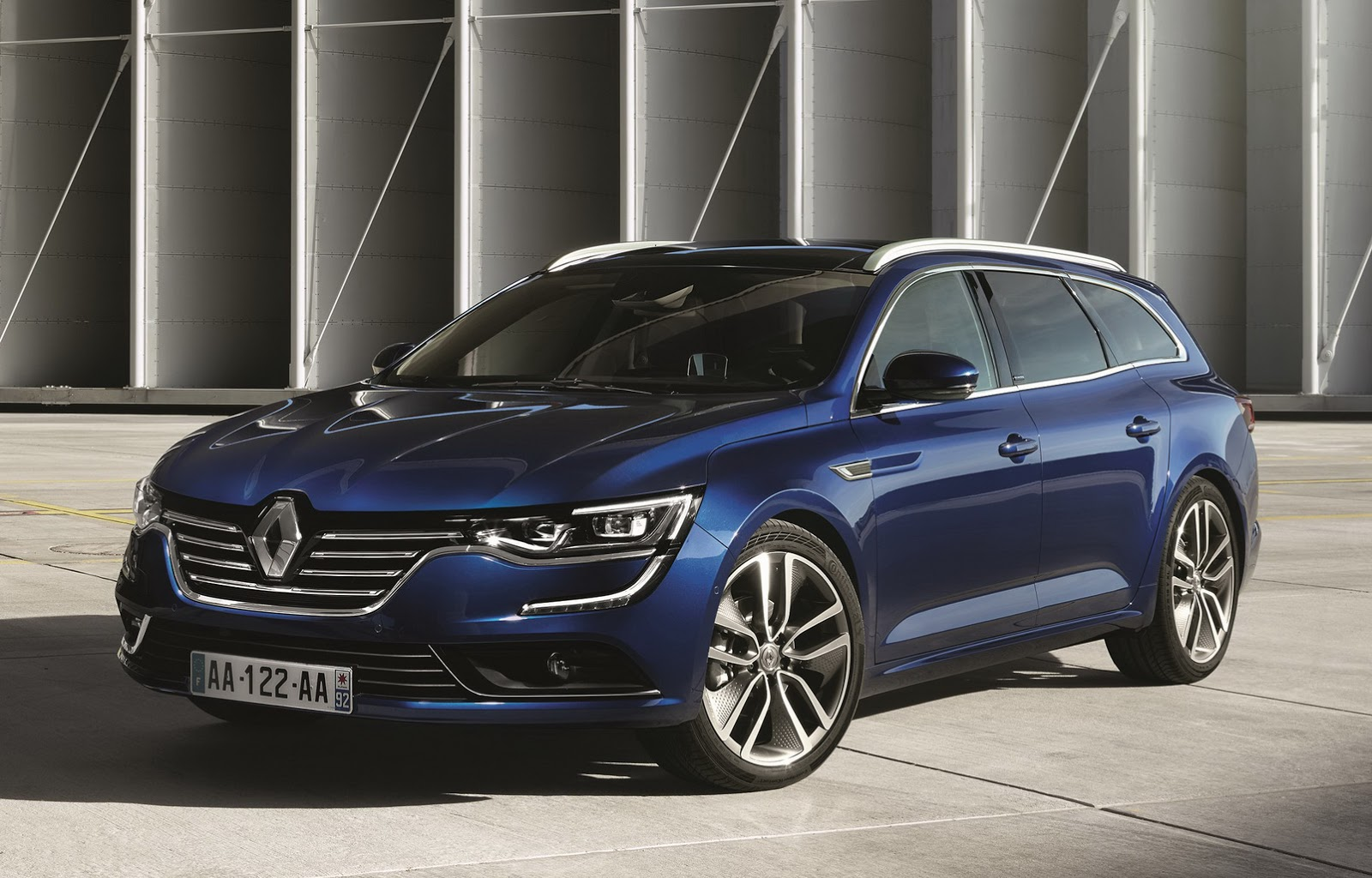 2016 renault talisman estate revealed in full brings racy styling to eco families autoevolution. Black Bedroom Furniture Sets. Home Design Ideas