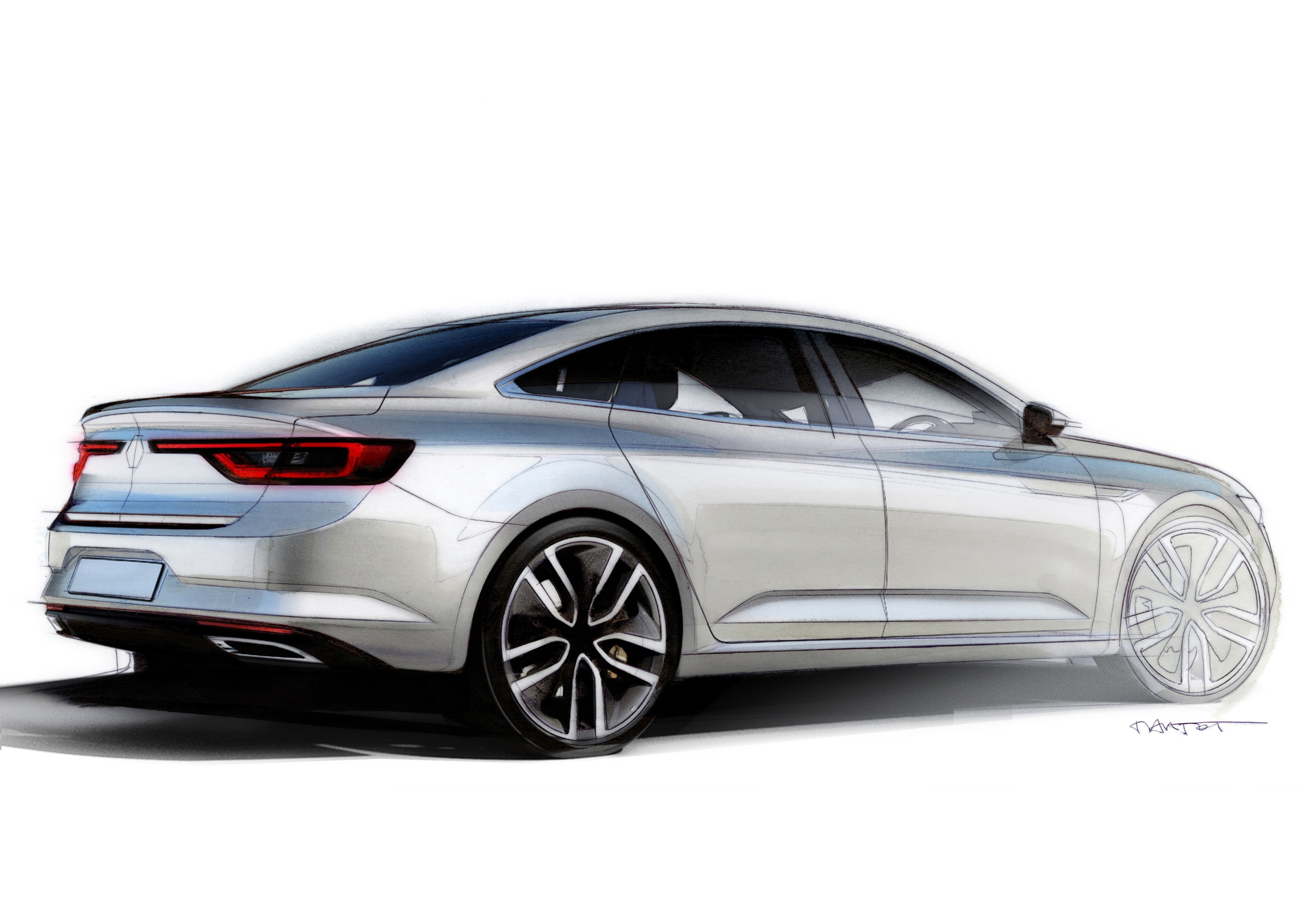 2016 Renault Talisman Replaces The Laguna Sedan Video