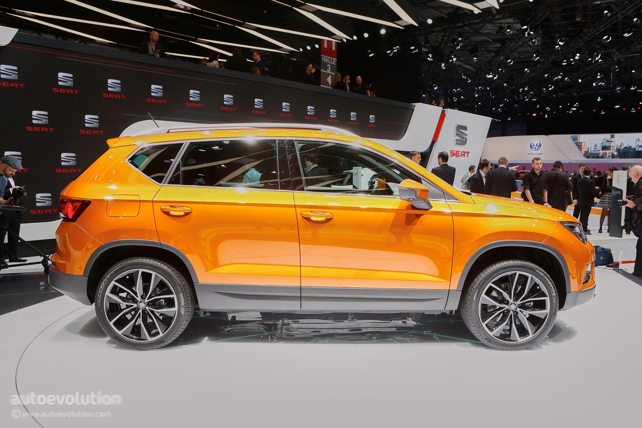 2016 SEAT Ateca SUV Makes Official Debut at Geneva - autoevolution