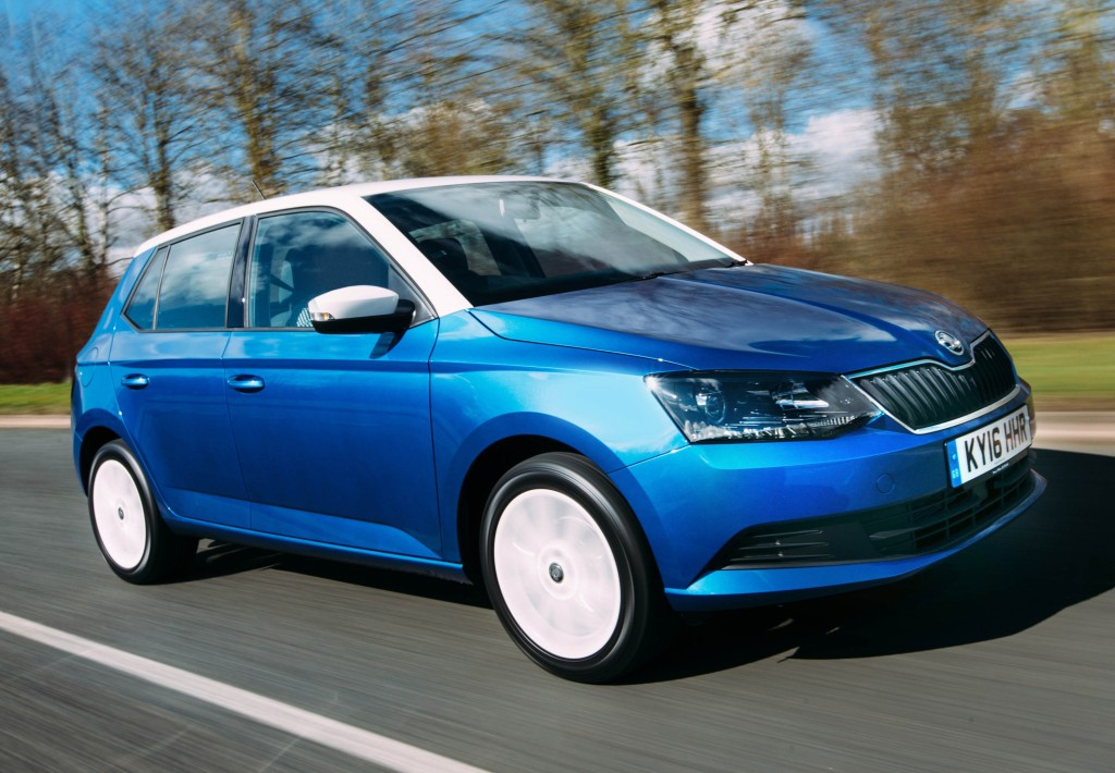 2016 Skoda Fabia Color Editions Arrive With Black Wheels Awesome