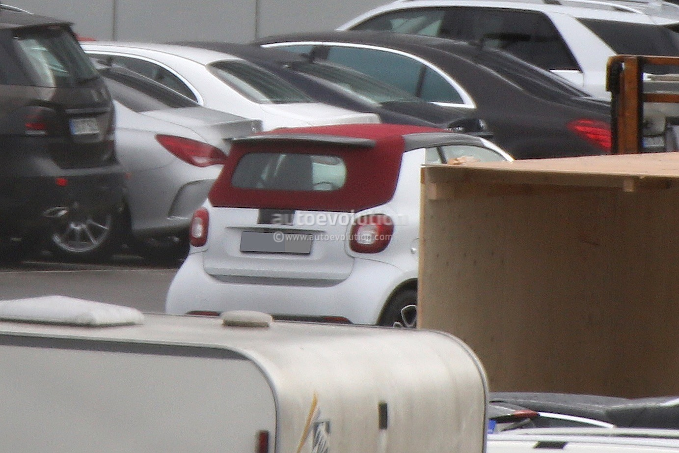 2016 Smart ForTwo Cabrio Spied With Electric Sliding Canvas Roof