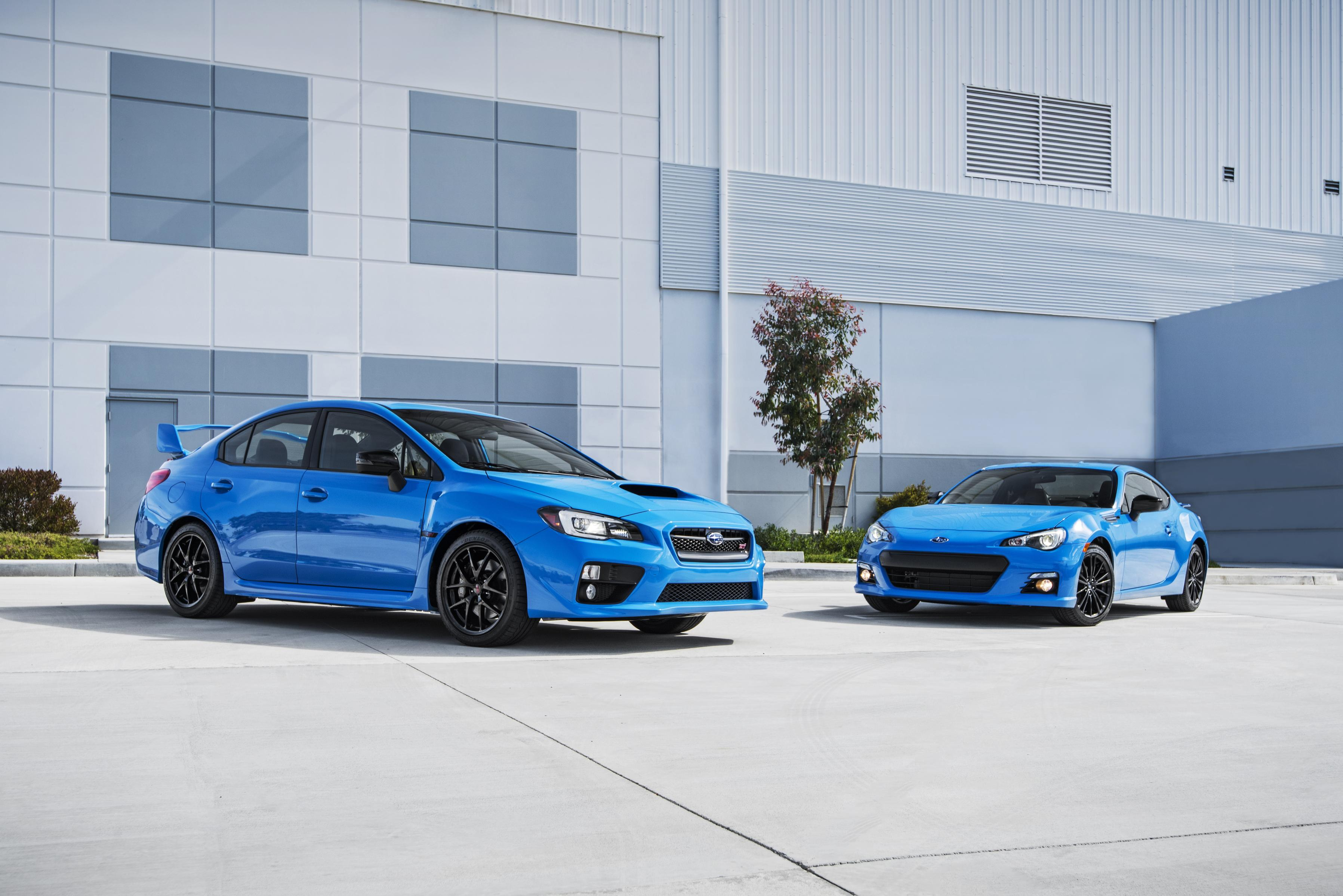 2016 subaru brz series hyperblue joins the 2016 subaru wrx sti series hyperblue limited edition. Black Bedroom Furniture Sets. Home Design Ideas