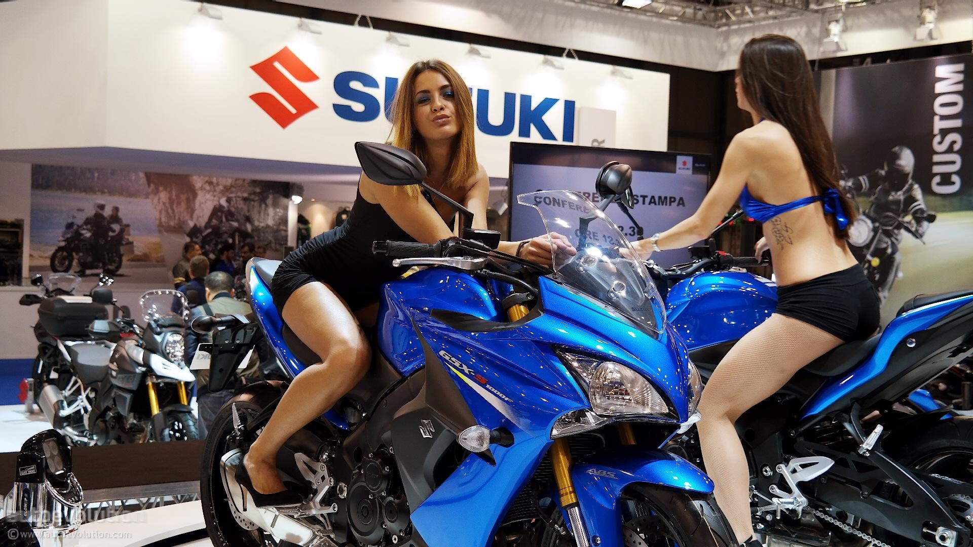 2016 Suzuki GSX-S1000F ABS Debuts at EICMA 2014 [Live Photos] - autoevolution