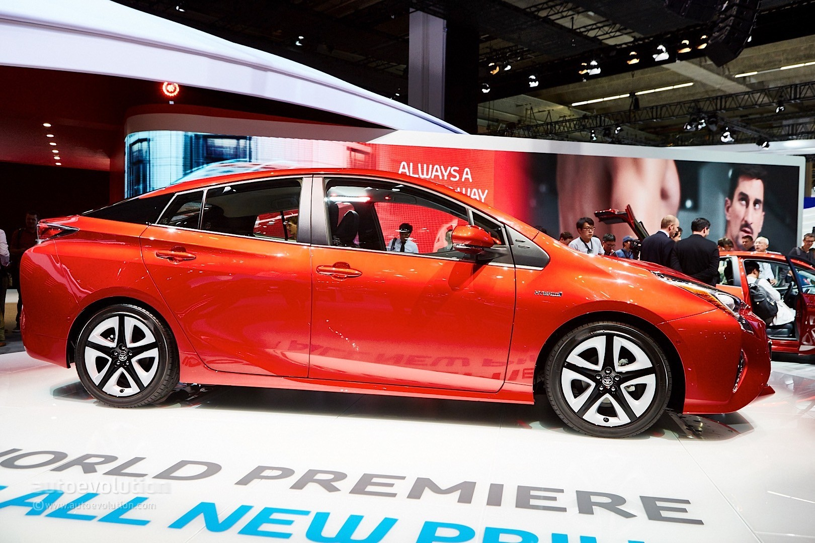 2016 4th Generation Toyota Prius [ This is IT !] - 2016 toyota prius comes to frankfurt reminds us it s oh so japanese live photos 11