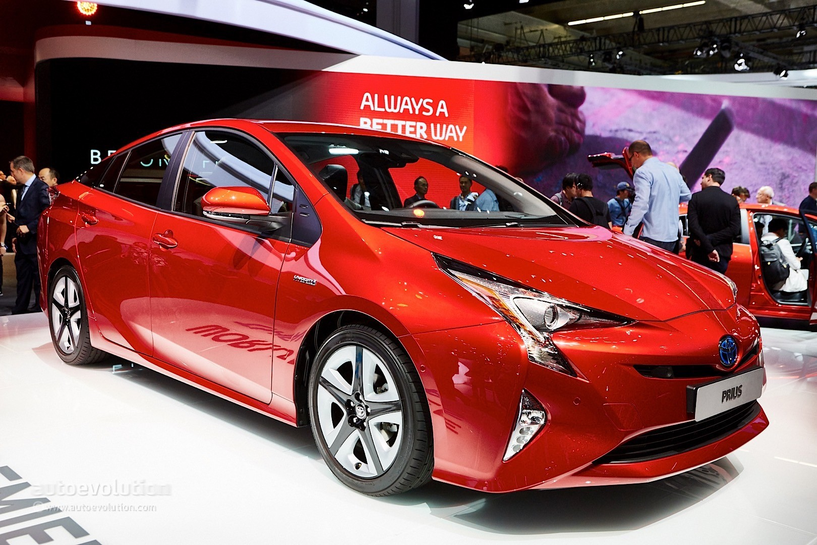 2016 4th Generation Toyota Prius [ This is IT !] - 2016 toyota prius comes to frankfurt reminds us it s oh so japanese live photos 13