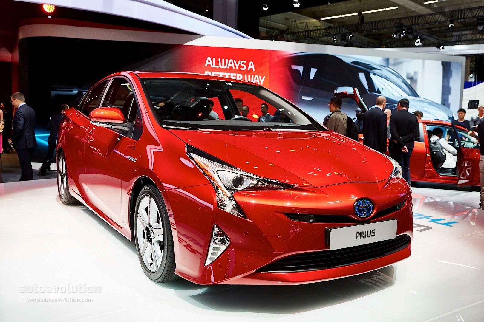 2016 4th Generation Toyota Prius [ This is IT !] - 2016 toyota prius comes to frankfurt reminds us it s oh so japanese live photos 14