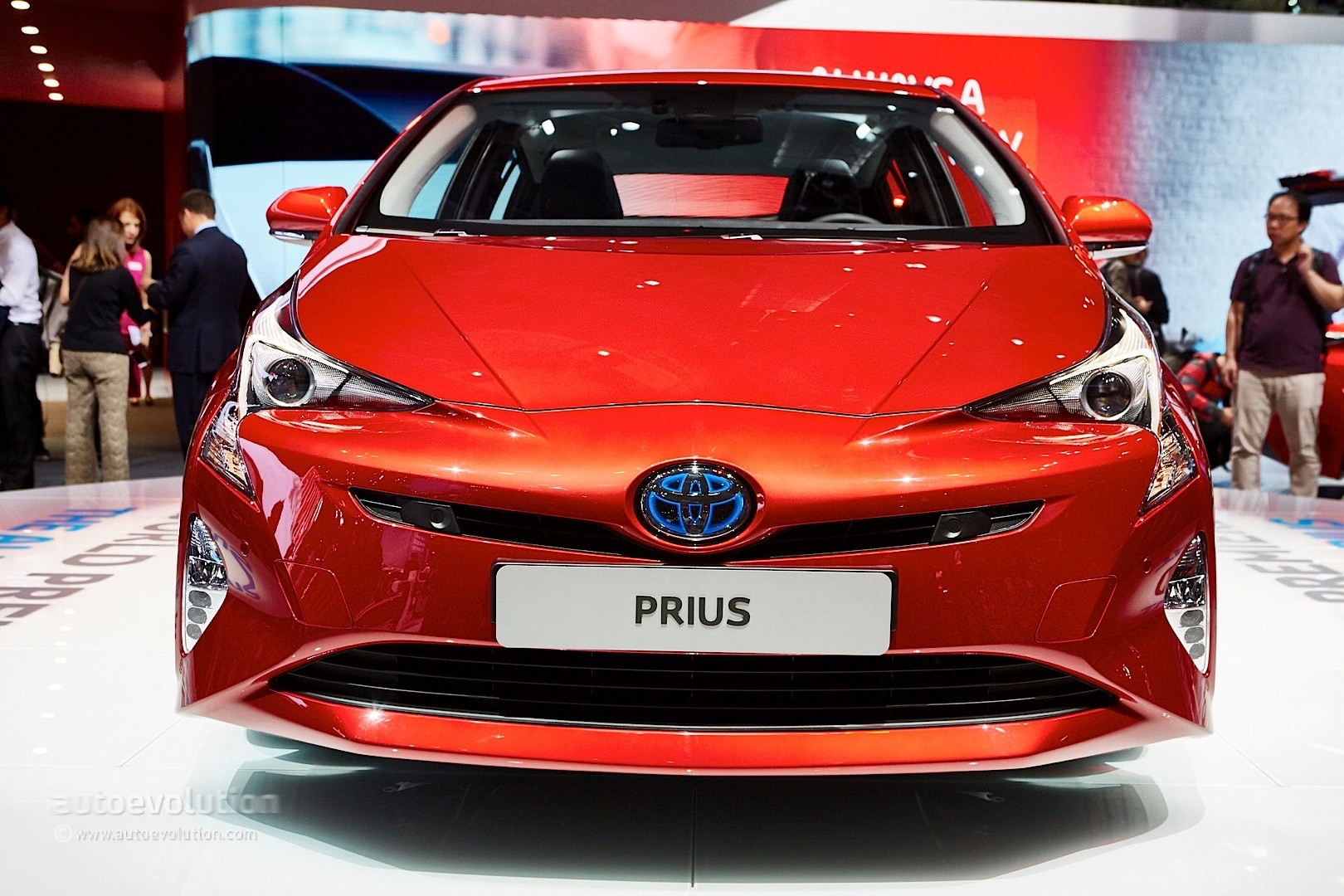 2016 4th Generation Toyota Prius [ This is IT !] - 2016 toyota prius comes to frankfurt reminds us it s oh so japanese live photos 16