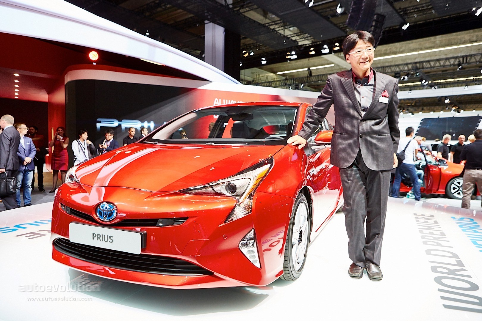2016 4th Generation Toyota Prius [ This is IT !] - 2016 toyota prius comes to frankfurt reminds us it s oh so japanese live photos 4