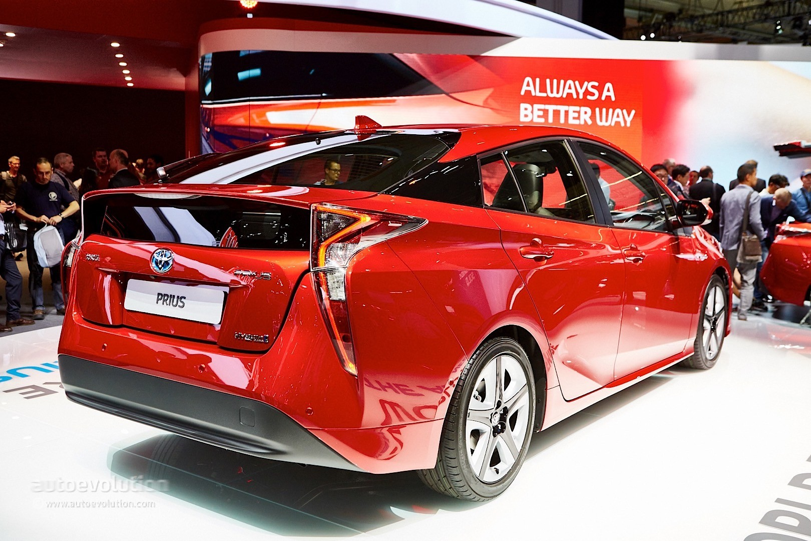 2016 4th Generation Toyota Prius [ This is IT !] - 2016 toyota prius comes to frankfurt reminds us it s oh so japanese live photos 8
