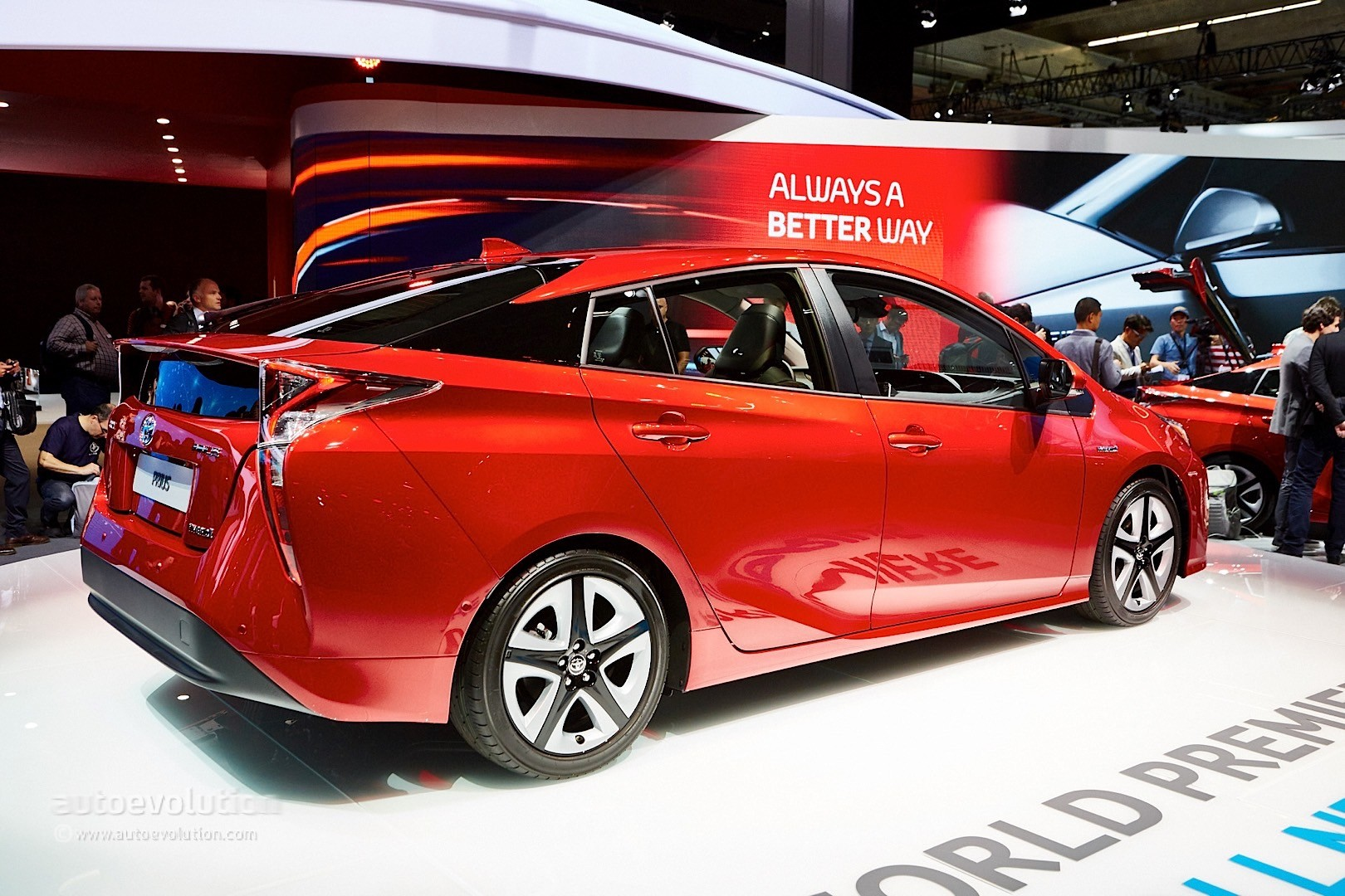 2016 4th Generation Toyota Prius [ This is IT !] - 2016 toyota prius comes to frankfurt reminds us it s oh so japanese live photos 9