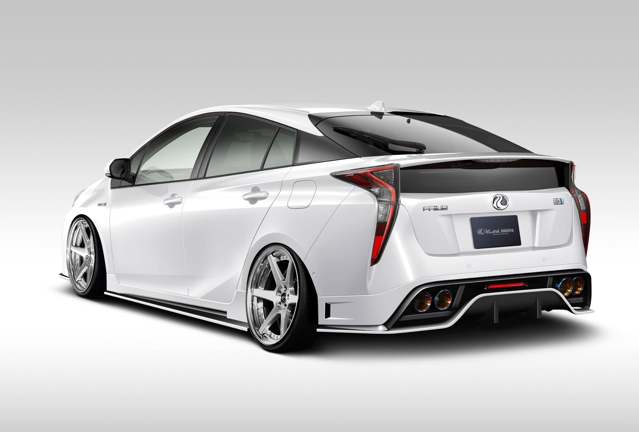2016 toyota prius getting hellaflush body kit from kuhl. Black Bedroom Furniture Sets. Home Design Ideas