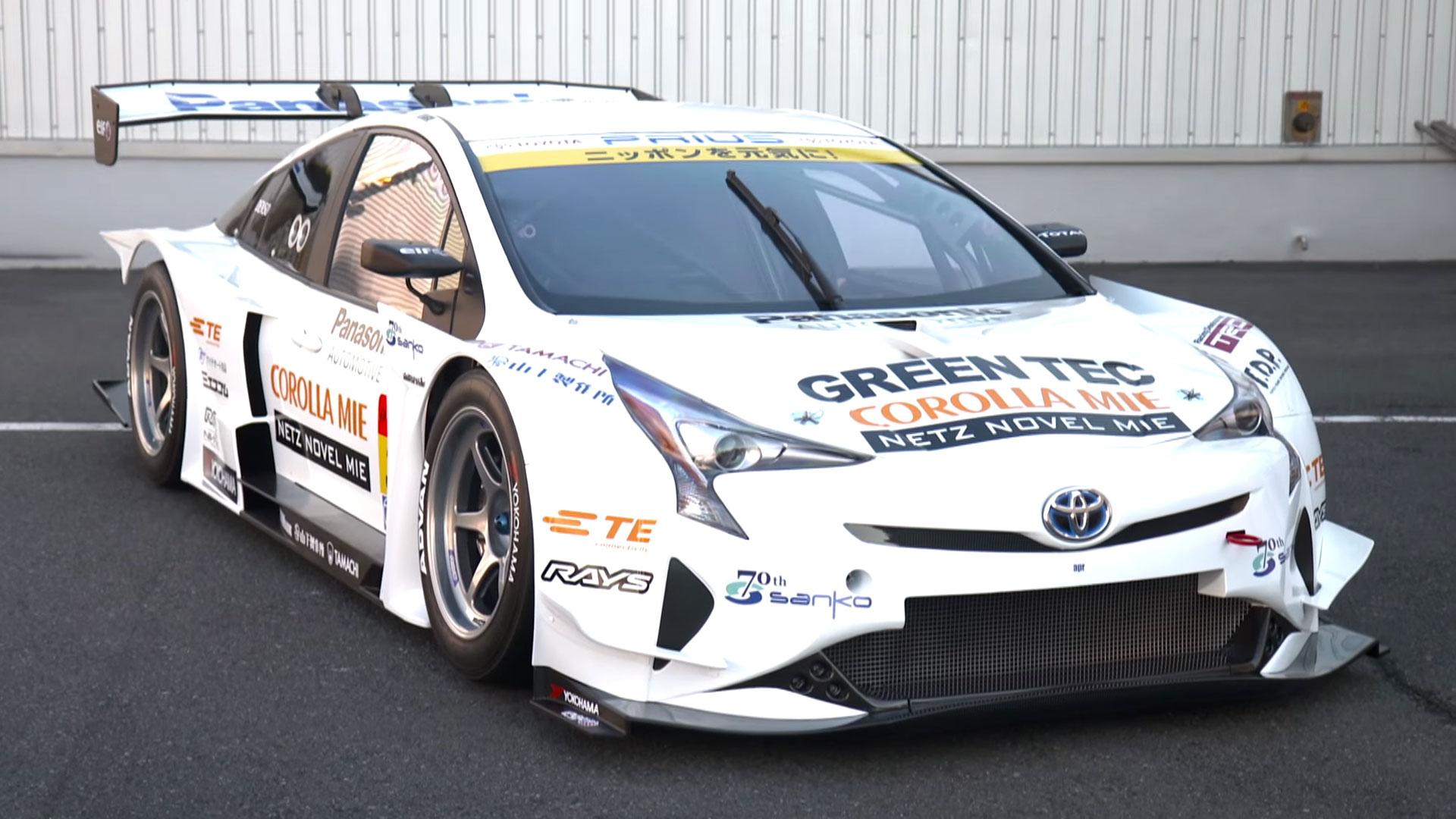 2016 Toyota Prius GT300 Racecar Debuts in Tokyo, Is as Otherworldly as ...