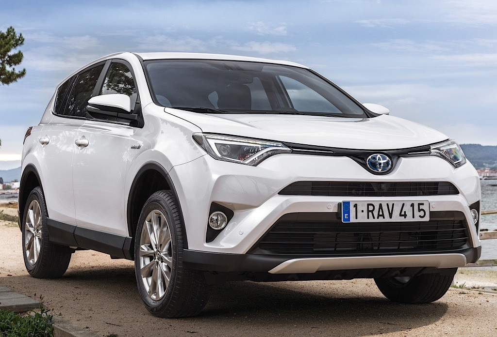 toyota hybrid rav4 suv prius limited edition european models debut marks autoevolution compact europe