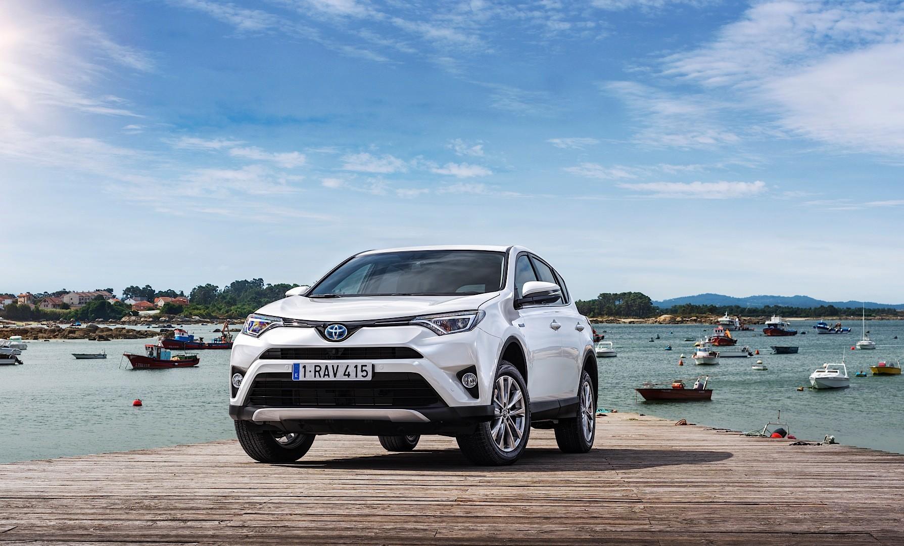 2016 Toyota Rav4 Hybrid One Limited Edition Marks European