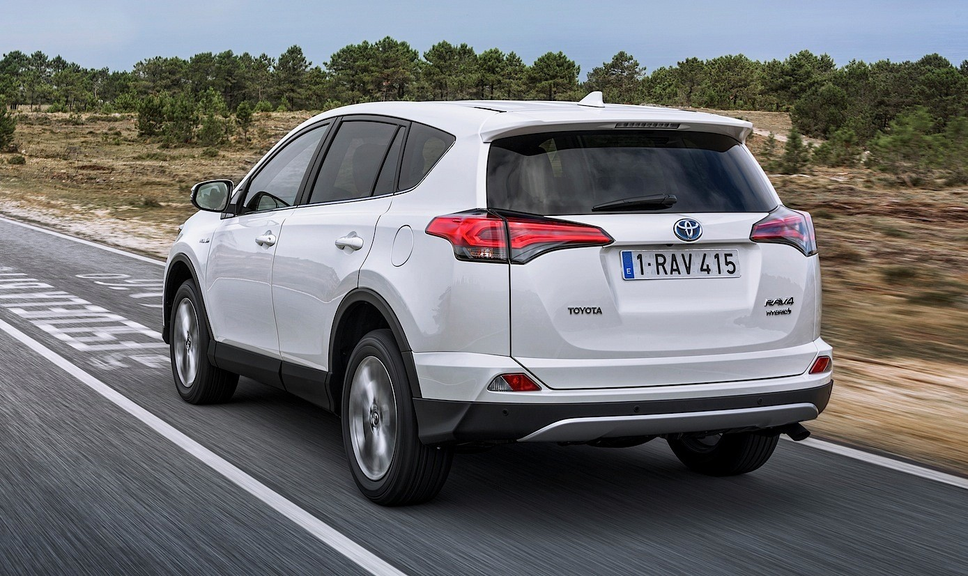 2016 Toyota Rav4 Hybrid One Limited Edition Marks European