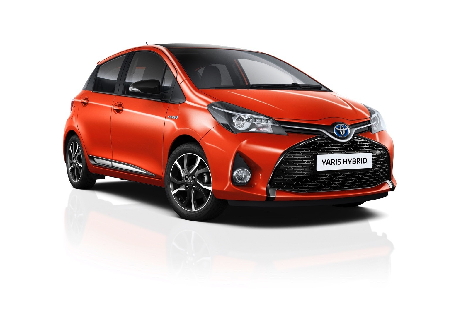 2016 Toyota Yaris Orange Edition Is Unmistakably Orange