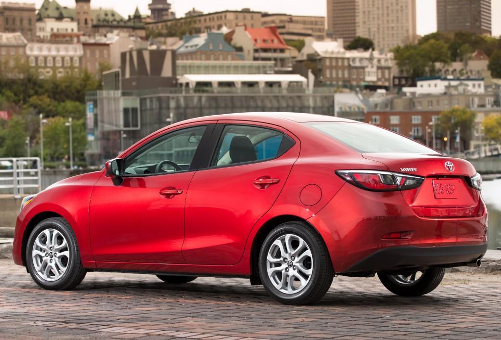 2016 Toyota Yaris Sedan Replaces The Scion Ia Is Still A Mazda2
