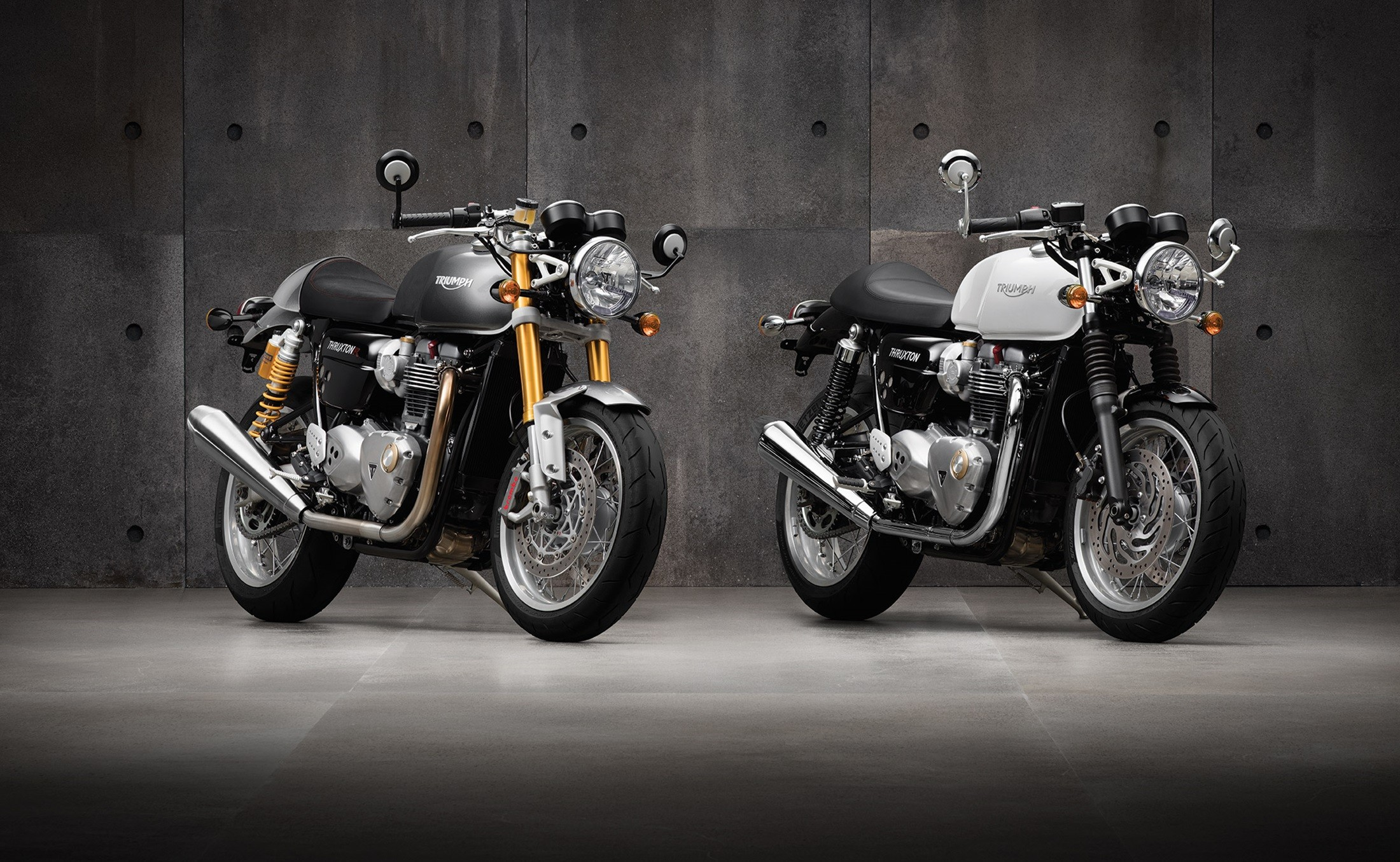 2016 Triumph Thruxton And Thruxton R Shown Looking Like