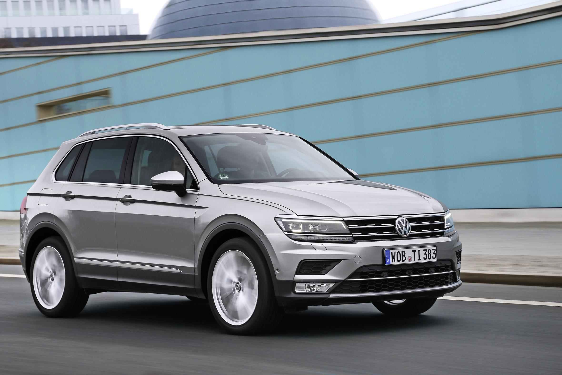 2016 Volkswagen Tiguan Goes on Sale in Britain from £ ...