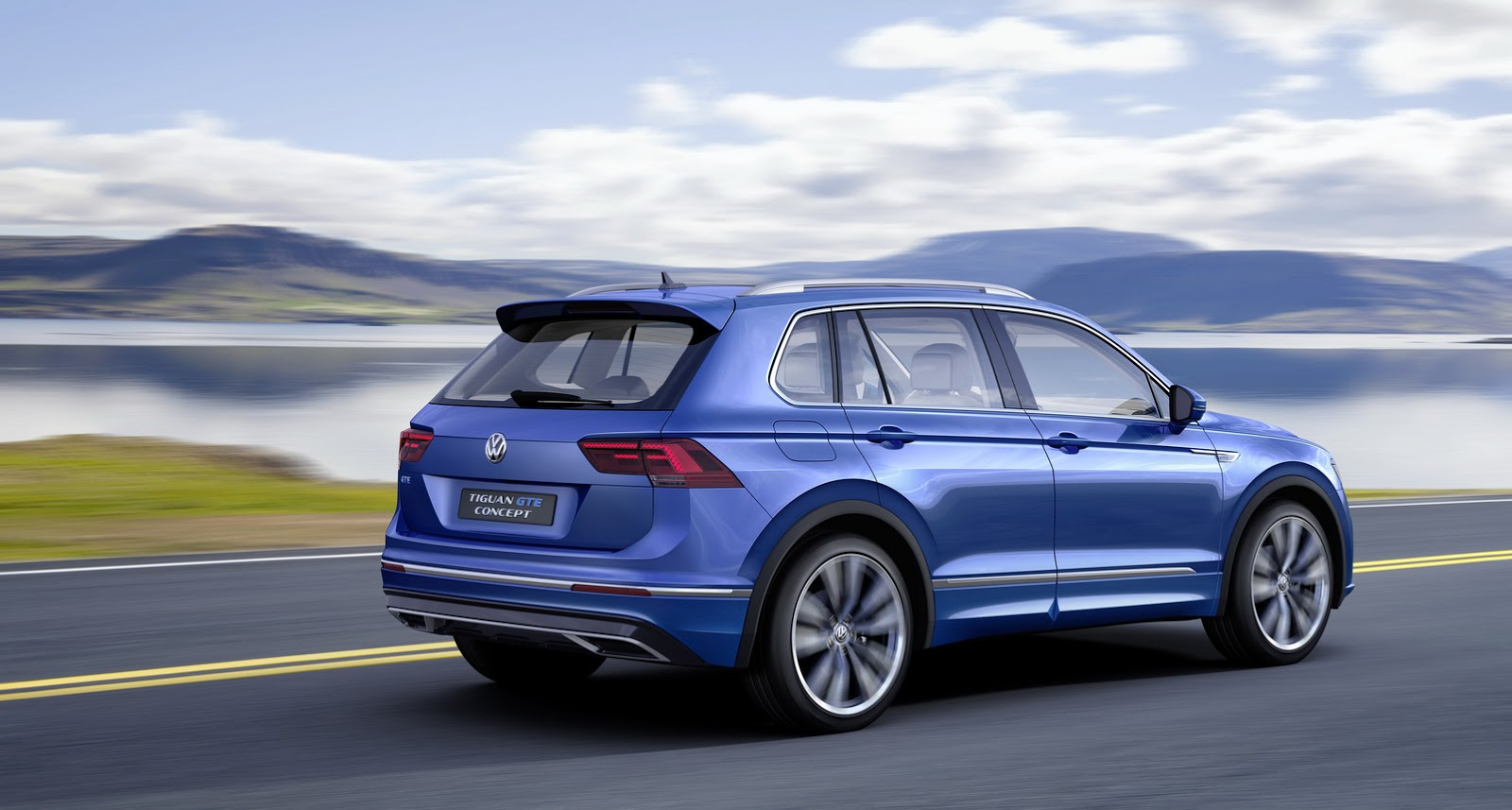 Vw Tiguan Gte  Plug In Hybrid >> Volkswagen Tiguan GTE Concept Revealed with 218 PS and 50 KM Electric Range - autoevolution