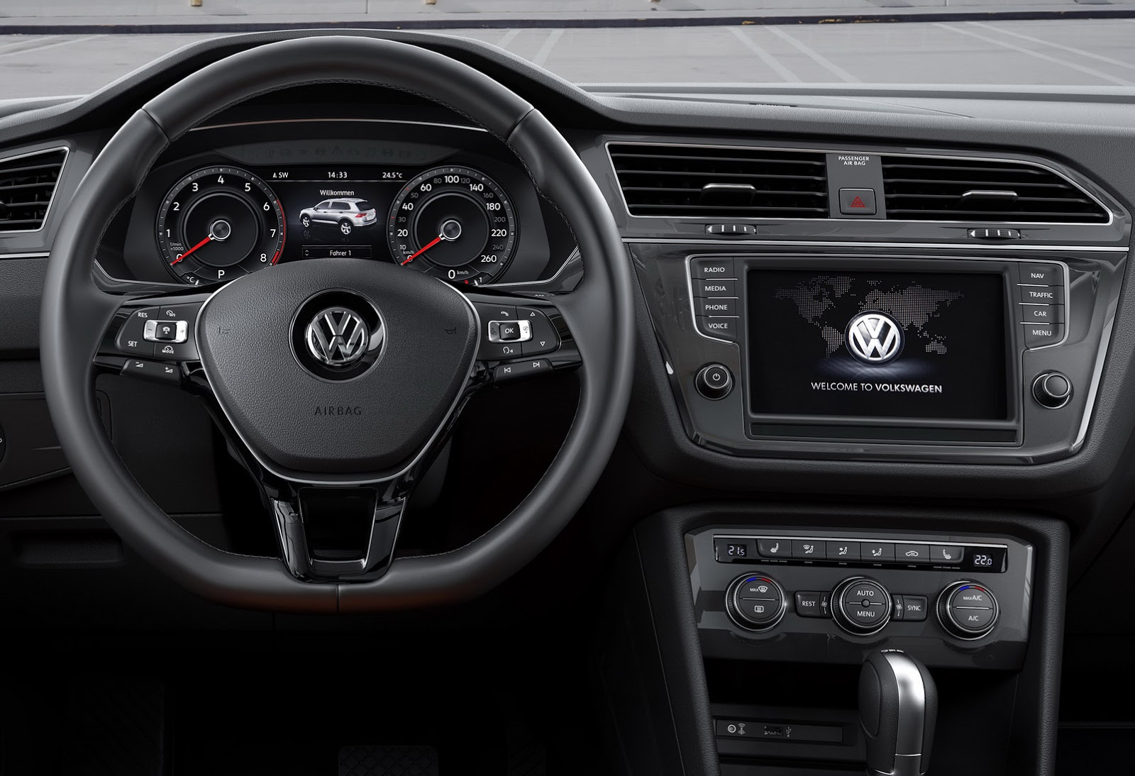 Pink Volkswagen Beetle >> 2016 Volkswagen Tiguan Launched with Only Two Engines ...