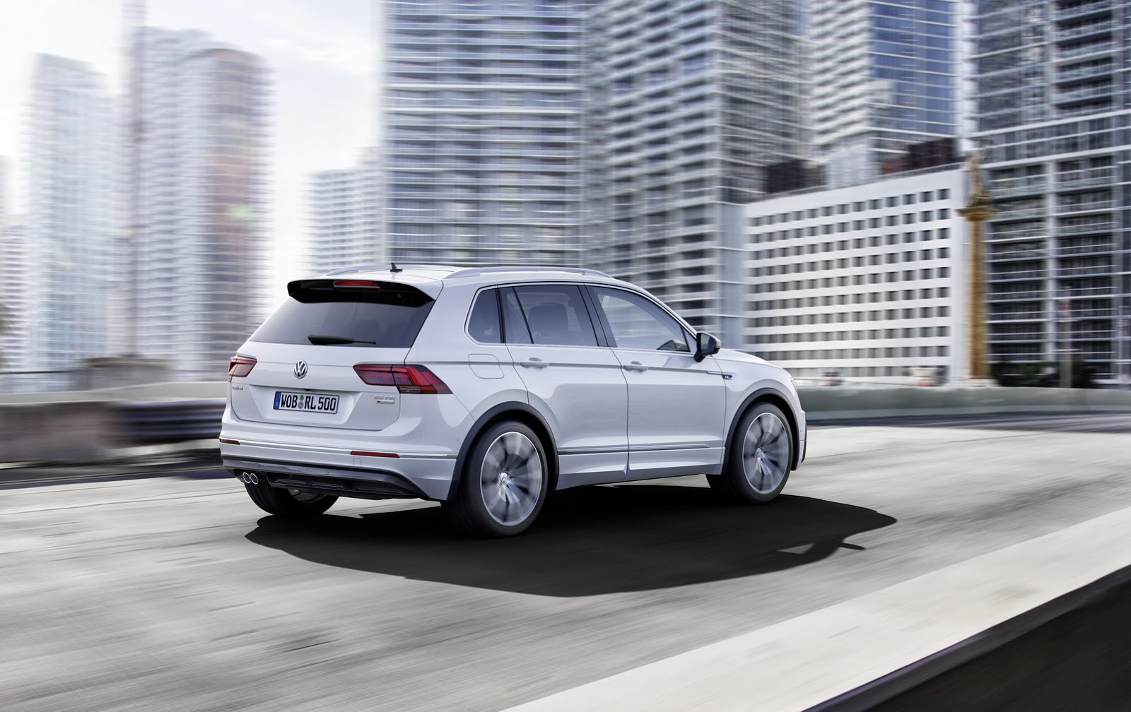 Экстерьер Volkswagen Tiguan 2017
