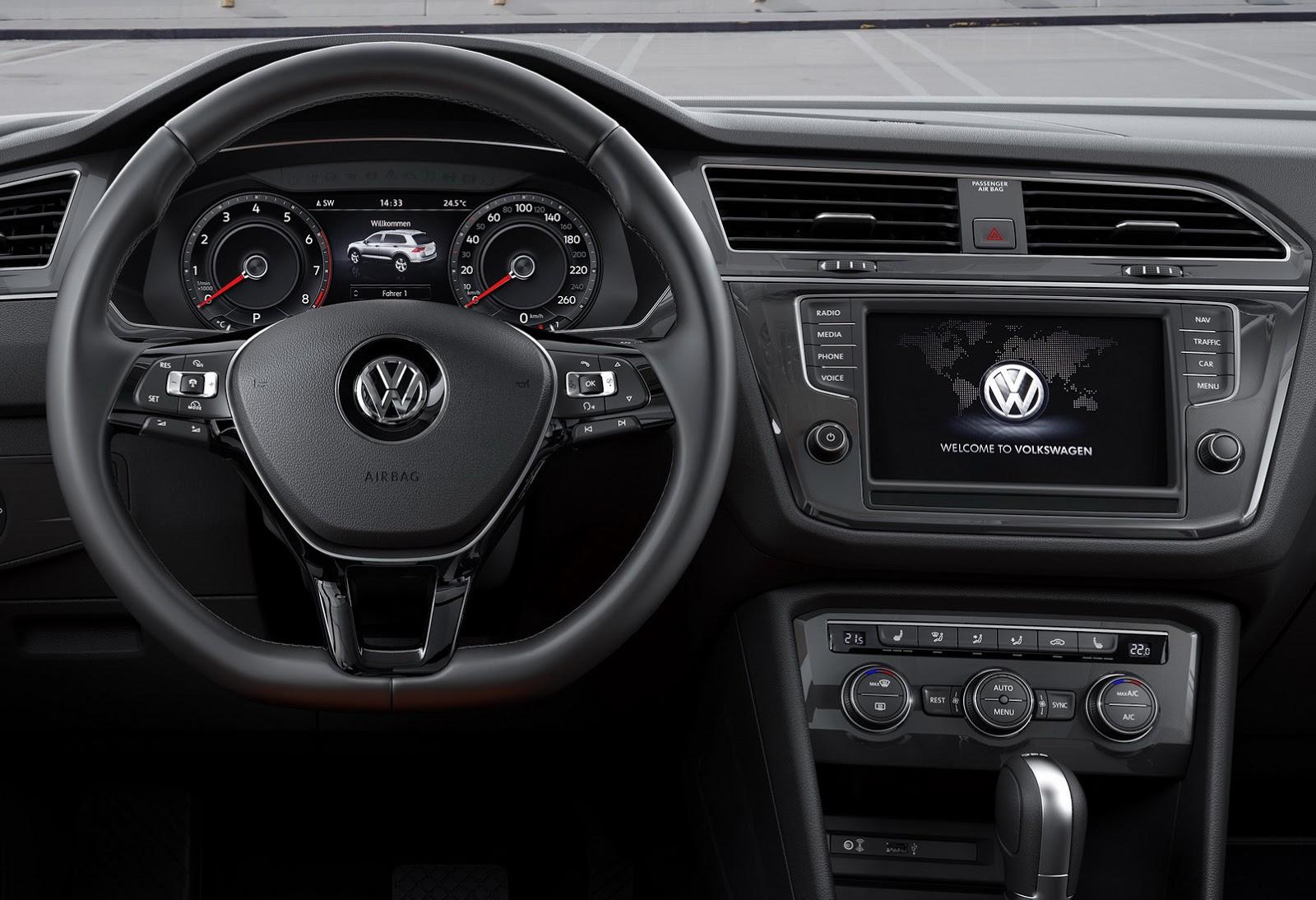 2016 Volkswagen Tiguan Shows Up at the Frankfurt Motor Show – Photo Gallery - autoevolution